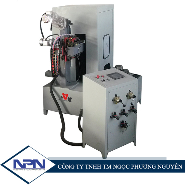 Máy đánh bóng sản phẩm dạng đĩa CNC ADV-608P