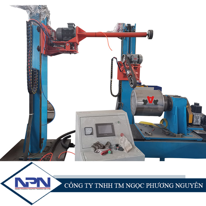 Máy đánh bóng trong/ngoài sản phẩm hình trụ CNC ADV-708