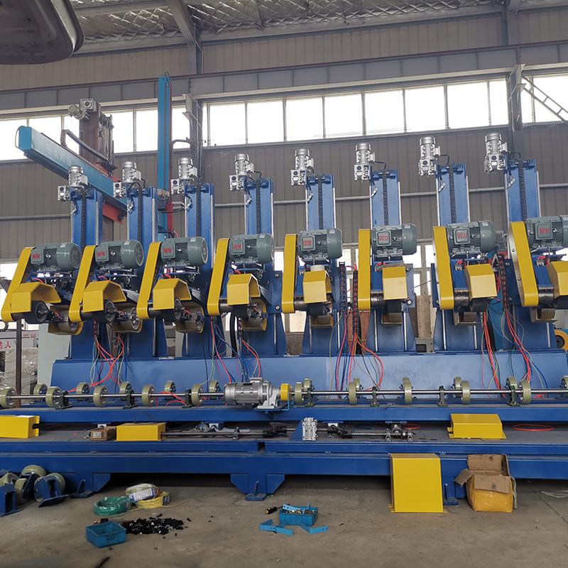 Máy đánh bóng ống kim loại nhiều trạm ADV-103