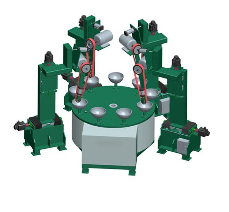 Máy đánh bóng sản phẩm nhỏ dạng bàn quay ADV-201